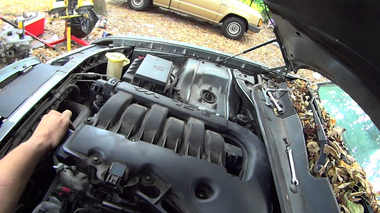 how to change spark plugs on 3 5l chrysler 300 dodge charger magnum [ 1280 x 720 Pixel ]
