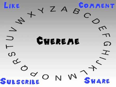 How to Say or Pronounce Chereme