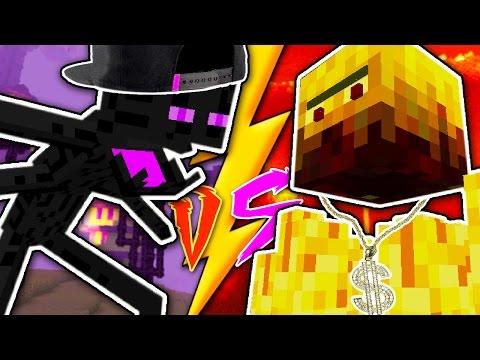 ENDERMAN VS BLAZE - Epic Rap Battle of Minecraft #1