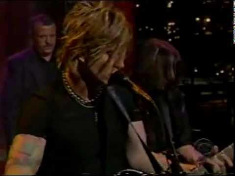 Goo Goo Dolls - Iris (Live on Letterman)