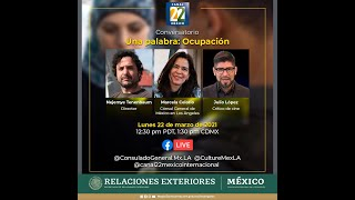 Conversaciones en Cuarentena: Una Palabra: Ocupación 22 de marzo