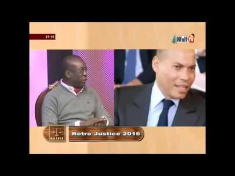 Toute la lumière sur l'affaire Karim WADE (émission balance de walf tv)
