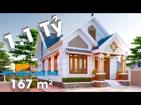 10 Điểm Cho Mẫu Nhà Cấp 4 Mái Thái Đẹp Rạng Ngời Tại Kim Sơn Ninh Bình