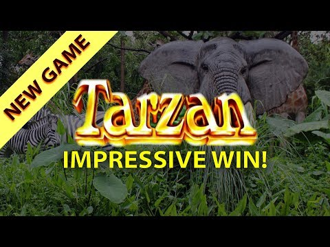 San Manuel 🎰 The NEW Tarzan Slot 🐘 The Slot Cats 🎰😸😺