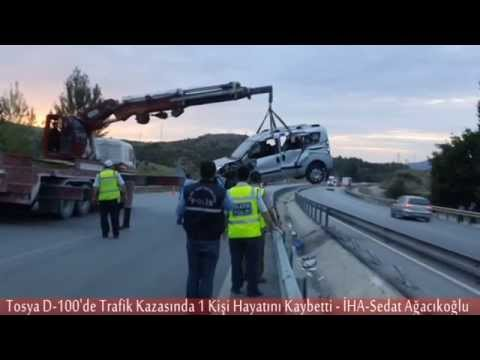 Tosya D-100 Trafik Kazası - 1 Ölü