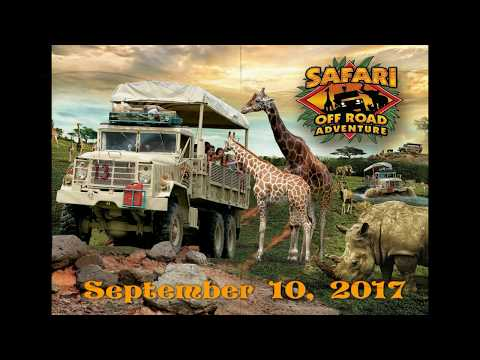 Six Flags Great Adventure Safari Off Road Adventure September 10, 2017