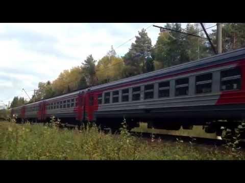Электричка ЭР2Р-7065 из Дубны в Вербилки