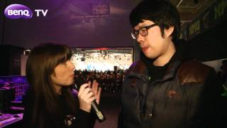 Video BenQ TV met with Oh 'ReaL' Jin Shil during Intel Extreme Masters World Championship 2012 download MP3, 3GP, MP4, WEBM, AVI, FLV Agustus 2017