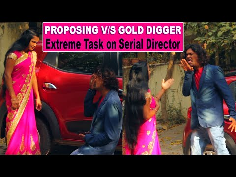 Crazy Task on Lady Serial Director | Gold Digger Vs Proposing | #tag Entertainments