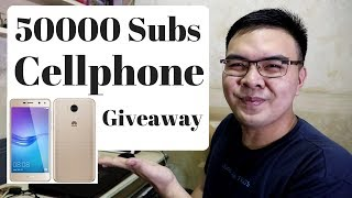 50k subscribers Cellphone giveaway - Huawei y5 2017 THANK YOU PO!!
