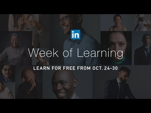 Free Online Courses | Career Development | Week of Learning