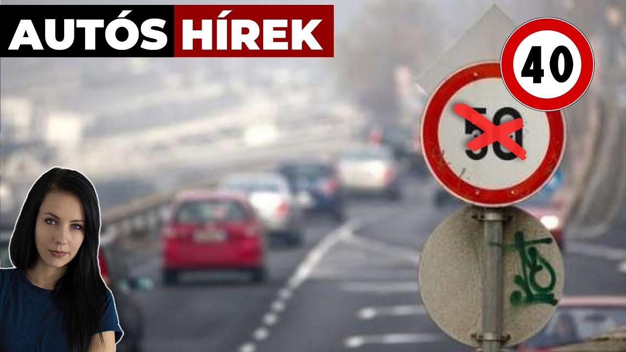 Bizonyos helyeken 40-re csökkenhet a sebességhatár - Autós hírek | Alapjárat