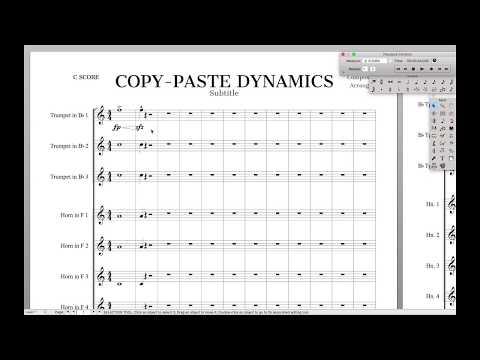 Copy-Paste Dynamics   Finale Superuser
