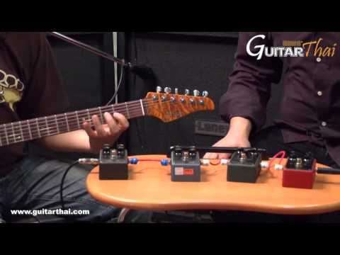 Review MESA BOOGIE DRIVE PEDALS by www.guitarthai.com