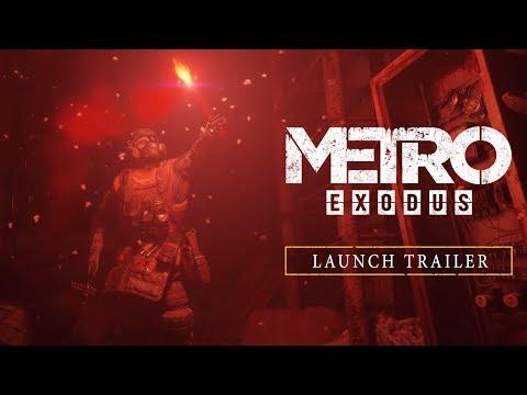 Metro Exodus - Официальный трейлер