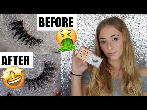 HOW TO CLEAN FAKE EYELASHES