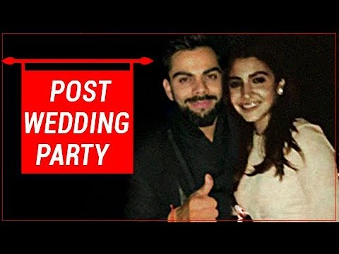 Virat Kohli, Anuskha Sharma Married In Italy , Post-Wedding Party Unseen Pics | VIRUSHKA WEDDING