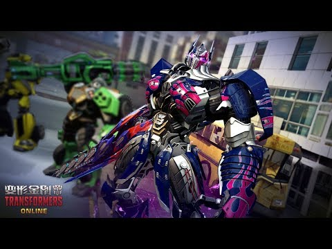 Nemesis Prime The Last Knight Sword And Shield Only Gameplay - TRANSFORMERS Online 2019