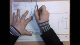 How to do 2 Point Perspective Instrumental Drawings - Part 04