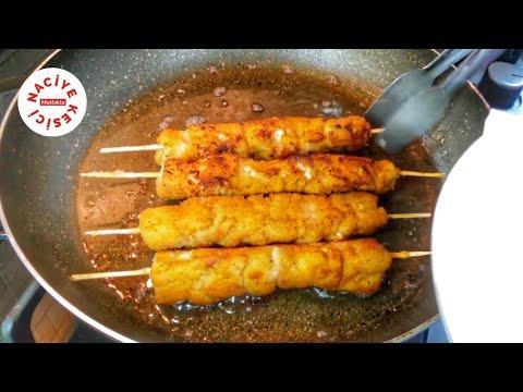 Parmak Yedirten Tavuk Şiş Tarifi - Naciye Kesici - Yemek Tarifleri