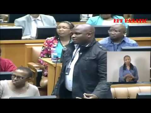 CiC Julius Malema Deputy Minister of Mining is Naive