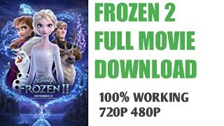 ... disney's frozen 2 (2019) hindi 720p 480p hd camrip (dvdscr) | dual audi...