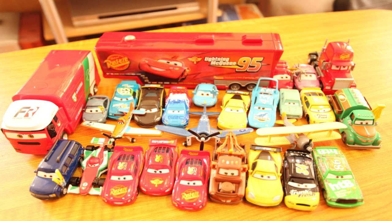 Disney Cars Planes Cars 2 Current Collection 20 Toy Car