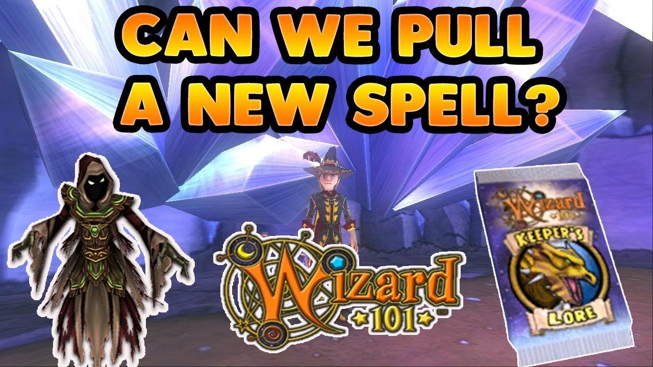 Wizard101 Pack Opening Can We Pull A New Spell?!