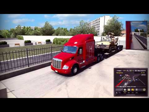 Let's Drive American Truck Simulator episode 1:  Nox Freight begins