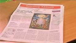 """Zeitung """"Sonntag Aktuell"""" stelle Erscheinen ein"""