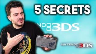 5 SECRETS CACHÉS SUR LA NINTENDO 3DS!