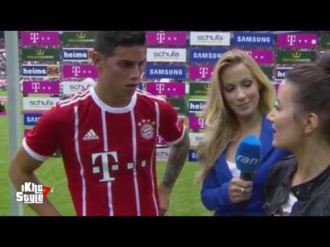 FIRST Interview with James Rodriguez FOR  Bayern Munich
