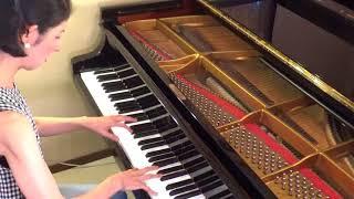 瀬尾真喜子ピアノ即興 HP:www.maki-p.com 「火の粉 sparks~次々はぜて...