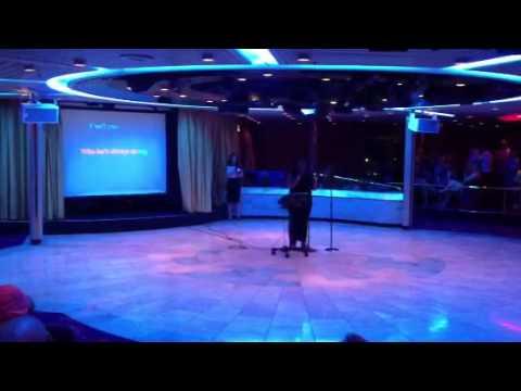 Honeymoon karaoke royal Caribbean