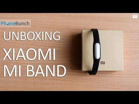 Xiaomi Mi Band India Unboxing and Hands-on Overview