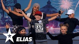 Rapperen Elias | Danmark Har Talent 2017 | Audition 2