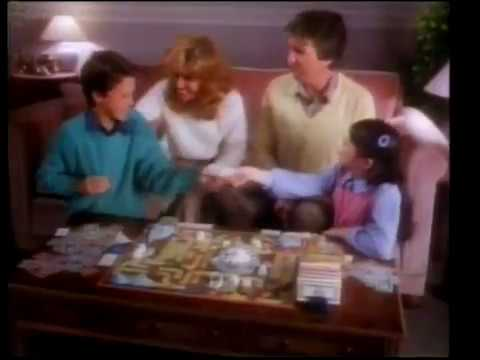 Game of Life Mb Games 1980s (Vintage toy Advert)