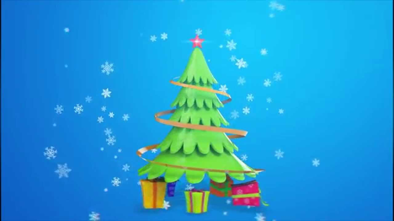 Christmas Greetings Video For Your Company Website Brand Or