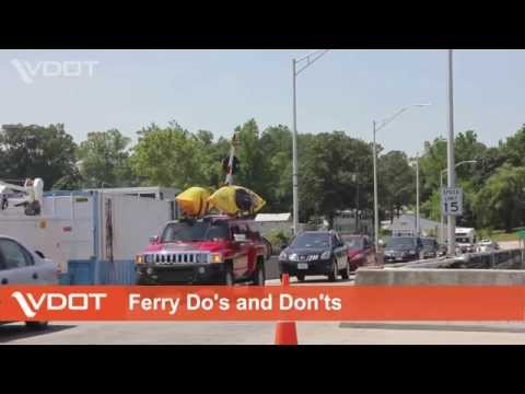 VDOT: Ferry Do's and Don'ts