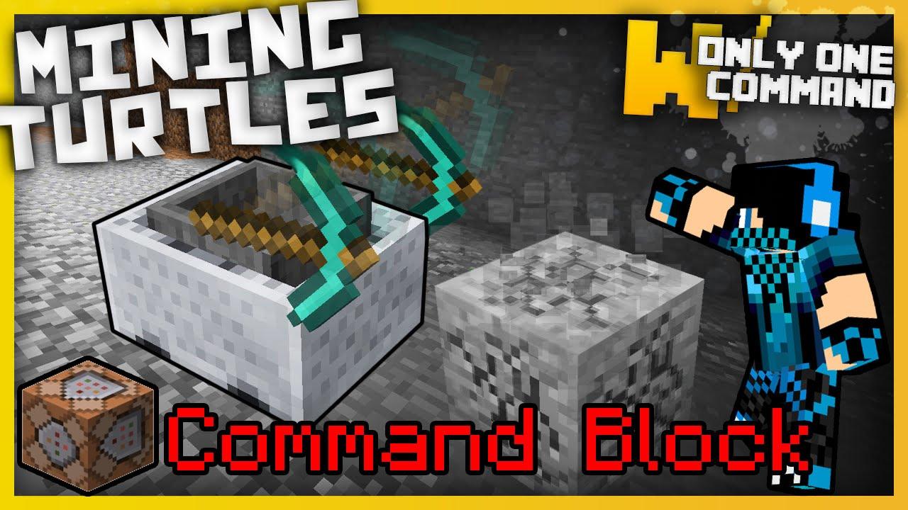 Minecraft: Máy Mine Tự Động – Chỉ 1 Lệnh (No Mod) 1.9.X