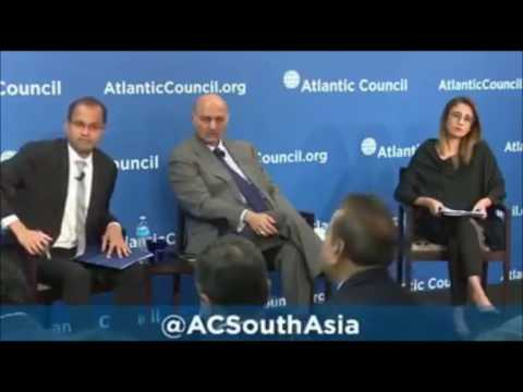 Pakistan Senator Mushahid Hussain Ripped Apart by Kashmiri Activist in the US