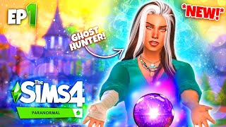 *NEW* The Sims 4 PARANORMAL! 👻 - Ep 1