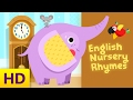 Songs for Kids with Lyrics | English Nursery Rhymes Compilation | Hickory Dickory Dock