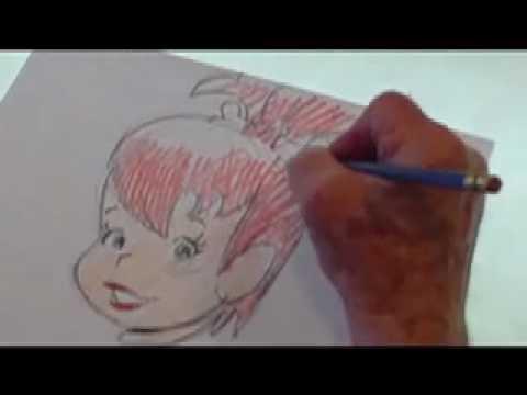 how to draw the flintstones