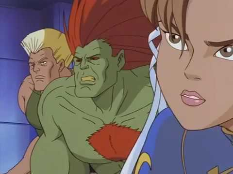 Street Fighter The Animated Series S01E02   The Strongest Woman In The World Watch Cartoons Online F