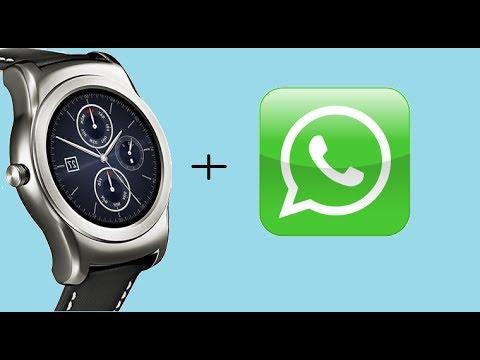 197b8f841 Como instalar WHATSAPP en un smartwatch con WEAR 2.0 - YouTube
