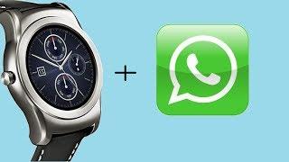 Como instalar WHATSAPP en un smartwatch con WEAR 2.0