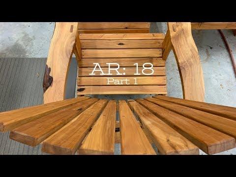 Building Adirondack Chairs: Part 1