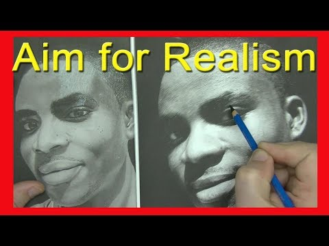 Realism Drawing Critiques | Art Channel for artists photorealism