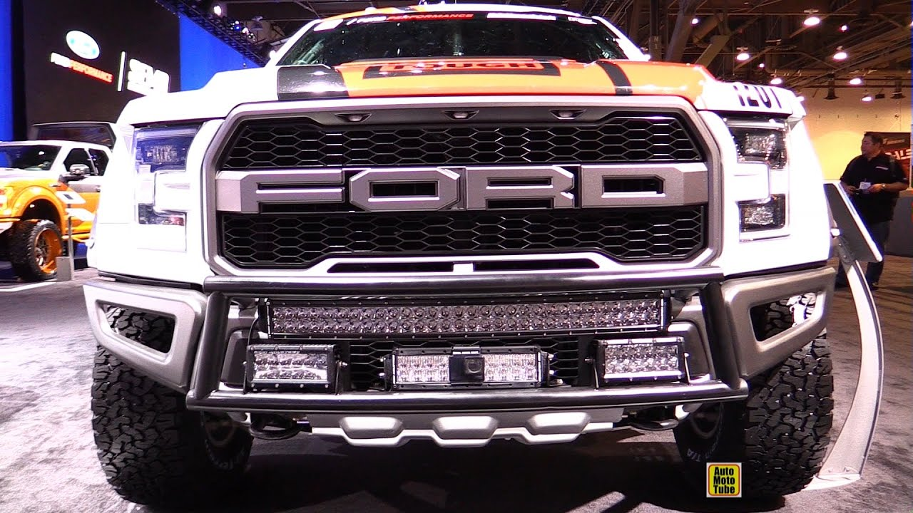 2019 Ford Raptor >> 2017 Ford F150 Raptor Racing Truck by Foutz Motorsports - Exterior Walkaround - 2016 SEMA - YouTube